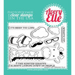 Avery Elle - Clear Acrylic Stamps - Whats Up