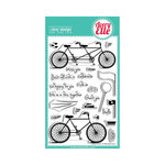Avery Elle - Clear Acrylic Stamps - Roll With It