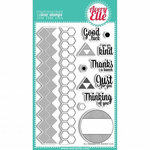 Avery Elle - Clear Acrylic Stamps - All Squared Up
