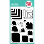 Avery Elle - Clear Acrylic Stamps - Rounded Diamonds