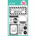 Avery Elle - Clear Acrylic Stamps - Air Mail