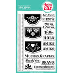 Avery Elle - Clear Acrylic Stamps - Papel Picado Banners