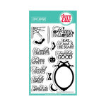 Avery Elle - Clear Acrylic Stamps - Halloween - Twisted Treats
