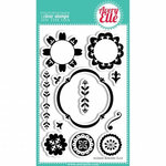 Avery Elle - Clear Acrylic Stamps - Suzani