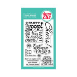 Avery Elle - Clear Acrylic Stamps - Cheers