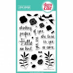 Avery Elle - Clear Acrylic Stamps - Laurels