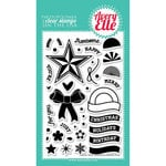 Avery Elle - Clear Acrylic Stamps - Simply Tags - Christmas