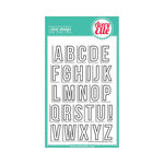Avery Elle - Clear Acrylic Stamps - Averys Alphas
