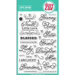 Avery Elle - Clear Acrylic Stamps - Needle Little Love