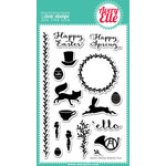 Avery Elle - Clear Acrylic Stamps - Happy Spring