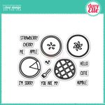 Avery Elle - Clear Acrylic Stamps - Humble Pie