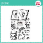 Avery Elle - Clear Acrylic Stamps - This Book