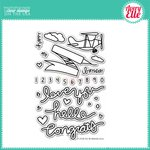 Avery Elle - Clear Acrylic Stamps - Fly By