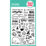 Avery Elle - Clear Acrylic Stamps - Swim Team