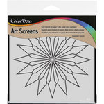 ColorBox - Art Screens - 6 x 6 Stencil - Starburst