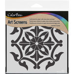 ColorBox - Art Screens - 6 x 6 Stencil - Medallion