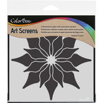 ColorBox - Art Screens - 6 x 6 Stencil - Poinsettia