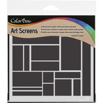 ColorBox - Art Screens - 6 x 6 Stencil - Modern Brick
