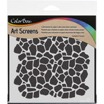 ColorBox - Art Screens - 6 x 6 Stencil - Cobblestone