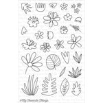 My Favorite Things - Clearly Sentimental - Clear Acrylic Stamps - Blissful Blooms