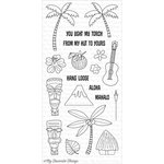My Favorite Things - Clearly Sentimental - Clear Acrylic Stamps - Tiki Party