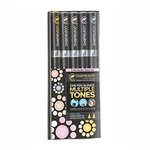 Chameleon Art Products Inc - Chameleon Color Tones - Pastel Tones Marker Set - 5 Pack