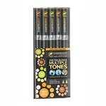 Chameleon Art Products Inc - Chameleon Color Tones - Earth Tones Marker Set - 5 Pack