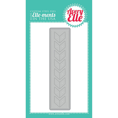 Avery Elle - Elle-Ments Border Dies - Chevron