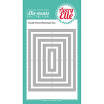 Avery Elle - Elle-Ments Dies - Double Pierced Rectangles