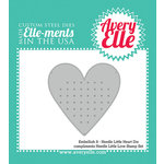 Avery Elle - Elle-Ments Dies - Embellish It Needle Little Heart