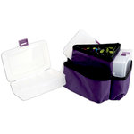 Mackinac Moon - Triangle Storage Spinner - Purple