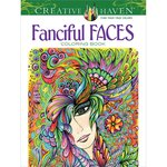 Dover Publications - Creative Haven - Fanciful Faces