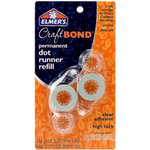 Elmer's - Craft Bond - Dot Runner - Permanent - Refills