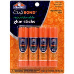 Elmer's - Craft Bond - Glue Sticks - Repositionable - Pack of 4