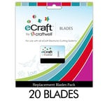 Craftwell - eCraft - 12 Inch Electronic Cutting System - Replacement Blades - 20 Pack