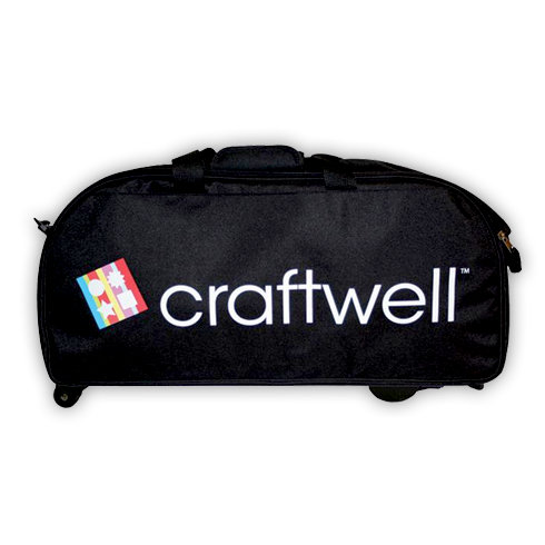 Craftwell - eCraft - 12 Inch Electronic Cutting System - Wheeled Travel Bag