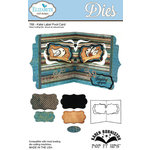 Elizabeth Craft Designs - Karen Burniston - Pop it Ups Metal Dies - Katie Label Pivot Card