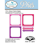Elizabeth Craft Designs - Karen Burniston - Pop it Ups Metal Dies - Fancy Frame Edges