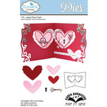 Elizabeth Craft Designs - Karen Burniston - Pop it Ups Metal Dies - Heart Pivot Card