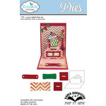 Elizabeth Craft Designs - Karen Burniston - Pop it Ups Metal Dies - Lucy Label Pop Up
