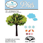 Elizabeth Craft Designs - Karen Burniston - Pop it Ups Metal Dies - All Season Tree