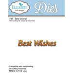 Elizabeth Craft Designs - Metal Die - Best Wishes