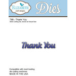 Elizabeth Craft Designs - Metal Die - Thank You