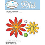 Elizabeth Craft Designs - Metal Die - Big Flower Set - One