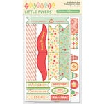 October Afternoon - Cakewalk Collection - Little Flyers - Self Adhesive Flags
