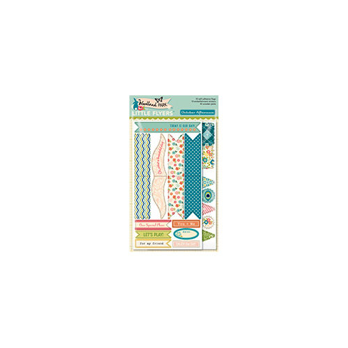 October Afternoon - Woodland Collection - Little Flyers - Self Adhesive Flags