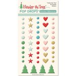October Afternoon - Under the Tree Collection - Christmas - Epoxy Stickers - Pop Drops