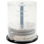 Unhinged Creative - Storage Container - Large Embellishment Carousel - Holds 36 Storage Vials