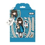 Santoro London - Gorjuss Rubber Stamp - Hush Little Bunny