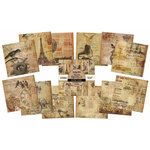 IndigoBlu - Belle Epoque Collection - 6 x 6 Paper Pad